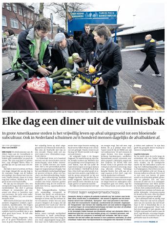 Dumpster Diving Tour Den Haag