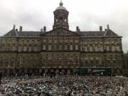 Shoes in dam square