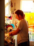 Kitchen moment