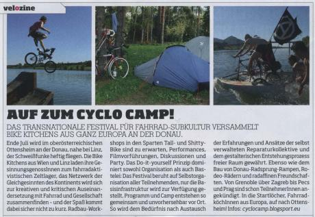 Bicycle-Festival Cyclocamp