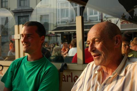Robino and Paul in Ghent