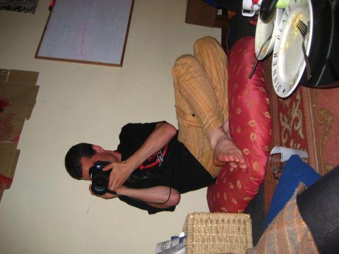 test pic of robino taking pic